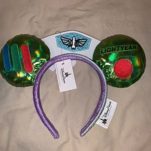 NWT Disney Parks Buzz Lightyear headband  ears